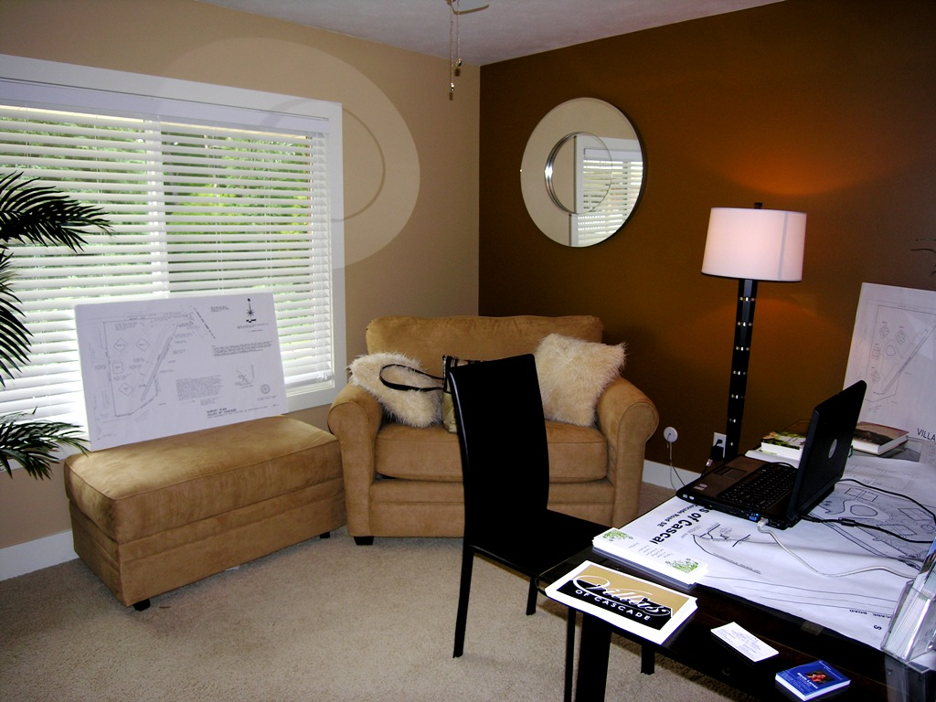 Sneak peak at villas of cascade condos cascade mi grand for Bedroom office combo