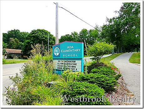 AdaElemsign thumb Forest Hills Michigan Neighborhood Real Estate Report – AdaCroft Commons May 2011