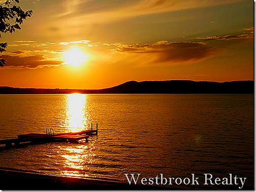 sunsetwclouds thumb Foto Friday – Glen Lake Sunset